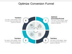 Optimize Conversion Funnel Ppt PowerPoint Presentation Gallery Vector Cpb