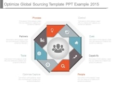 Optimize Global Sourcing Template Ppt Example 2015