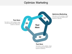 Optimize Marketing Ppt PowerPoint Presentation Pictures Display Cpb
