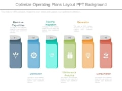Optimize Operating Plans Layout Ppt Background