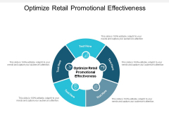 Optimize Retail Promotional Effectiveness Ppt PowerPoint Presentation Outline Gallery Cpb