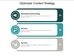 Optimized Content Strategy Ppt PowerPoint Presentation File Graphic Images Cpb