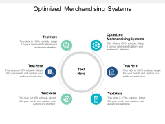 Optimized Merchandising Systems Ppt PowerPoint Presentation Icon Inspiration