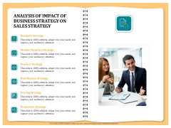 Optimizing Marketing Channel For Profit Increment Analysis Of Impact Of Business Strategy On Sales Strategy Introduction PDF