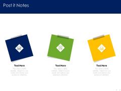 Optimizing Tasks Team Collaboration Agile Operations Post It Notes Themes PDF