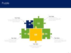 Optimizing Tasks Team Collaboration Agile Operations Puzzle Designs PDF