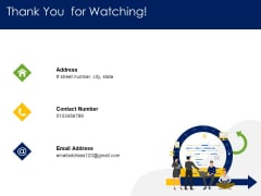 Optimizing Tasks Team Collaboration Agile Operations Thank You For Watching Microsoft PDF