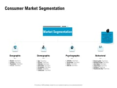 Optimizing The Marketing Operations To Drive Efficiencies Consumer Market Segmentation Clipart PDF