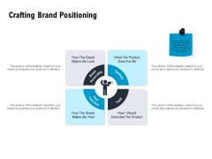 Optimizing The Marketing Operations To Drive Efficiencies Crafting Brand Positioning Inspiration PDF