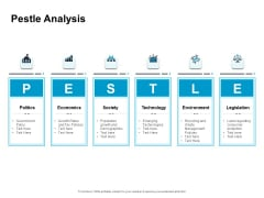 Optimizing The Marketing Operations To Drive Efficiencies Pestle Analysis Elements PDF