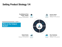 Optimizing The Marketing Operations To Drive Efficiencies Setting Product Strategy Business Demonstration PDF