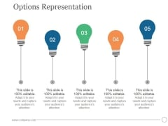 Options Representation Ppt PowerPoint Presentation Visual Aids