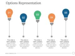Options Representation Ppt PowerPoint Presentation Visual Aids