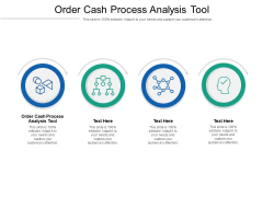 Order Cash Process Analysis Tool Ppt PowerPoint Presentation Icon Inspiration Cpb Pdf