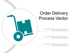 Order Delivery Process Vector Ppt PowerPoint Presentation Slides Aids