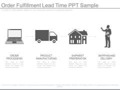 Order Fulfillment Lead Time Ppt Sample
