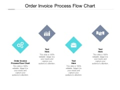Order Invoice Process Flow Chart Ppt PowerPoint Presentation Outline Tips Cpb Pdf