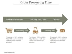 Order Process Time Ppt PowerPoint Presentation Inspiration