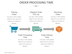 Order Processing Time Template 1 Ppt PowerPoint Presentation Show Introduction