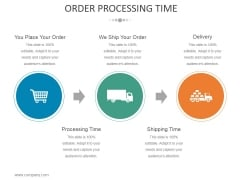 Order Processing Time Template 2 Ppt PowerPoint Presentation Styles Guidelines
