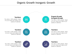 Organic Growth Inorganic Growth Ppt PowerPoint Presentation Gallery Backgrounds Cpb