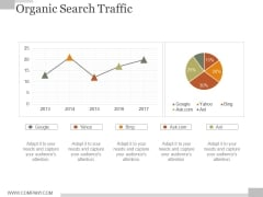 Organic Search Traffic Ppt PowerPoint Presentation Influencers