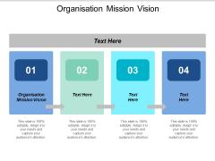 Organisation Mission Vision Ppt PowerPoint Presentation Portfolio Slide Download Cpb
