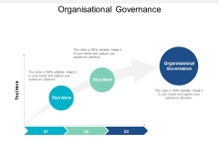 Organisational Governance Ppt PowerPoint Presentation Portfolio Model Cpb