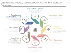 Organisational Strategy Template Powerpoint Slide Presentation Guidelines