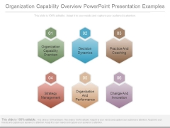 Organization Capability Overview Powerpoint Presentation Examples