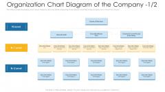 Organization Chart Diagram Of The Company Board Ppt Inspiration Vector PDF