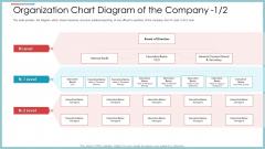 Organization Chart Diagram Of The Company Internal Audit Ppt Professional Visuals PDF