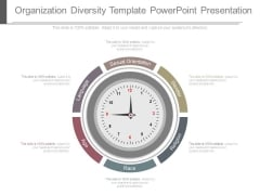 Organization Diversity Template Powerpoint Presentation