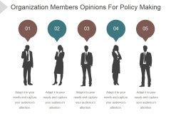 Organization Members Opinions For Policy Making Ppt PowerPoint Presentation Guidelines