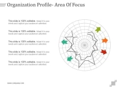 Organization Profile Area Of Focus Ppt PowerPoint Presentation Templates