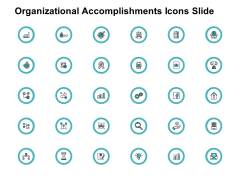 Organizational Accomplishments Icons Slide Ppt PowerPoint Presentation Model Slide Download