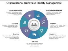 Organizational Behaviour Identity Management Ppt PowerPoint Presentation Icon Format Ideas