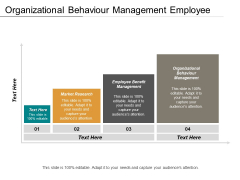 Organizational Behaviour Management Employee Benefit Management Market Research Ppt PowerPoint Presentation Gallery Examples