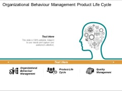 Organizational Behaviour Management Product Life Cycle Quality Management Ppt PowerPoint Presentation Styles Slide
