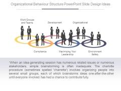 Organizational Behaviour Structure Powerpoint Slide Design Ideas