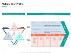 Organizational Building Blocks Multiply Your Profits Ppt PowerPoint Presentation Outline Graphics PDF