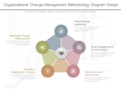 Organizational Change Management Methodology Diagram Design