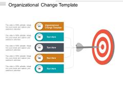 Organizational Change Template Ppt PowerPoint Presentation Model Portfolio Cpb