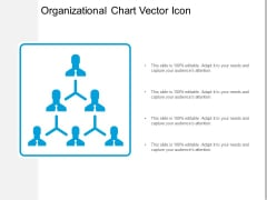 Organizational Chart Vector Icon Ppt PowerPoint Presentation Inspiration Visuals