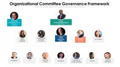 Organizational Committee Governance Framework Ppt Layouts Skills PDF