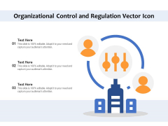Organizational Control And Regulation Vector Icon Ppt PowerPoint Presentation Layouts Design Ideas PDF