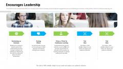 Organizational Culture Encourages Leadership Ppt Professional Skills PDF