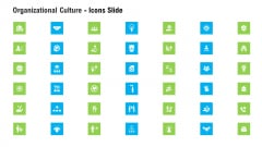 Organizational Culture Icons Slide Ppt Styles Shapes PDF