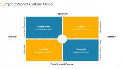 Organizational Culture Model Graphics PDF