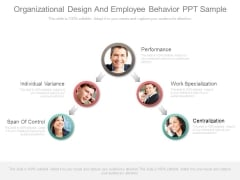 Organizational Design And Employee Behavior Ppt Sample